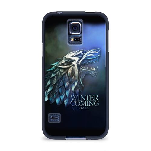Чехол для Samsung Galaxy S5 силиконовый Зима близко