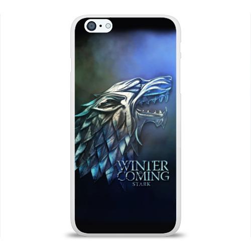 Чехол для Apple iPhone 6Plus/6SPlus силиконовый глянцевый Зима близко