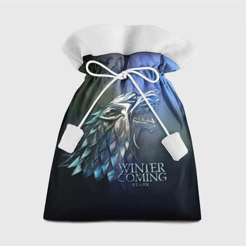 Подарочный 3D мешок Зима близко