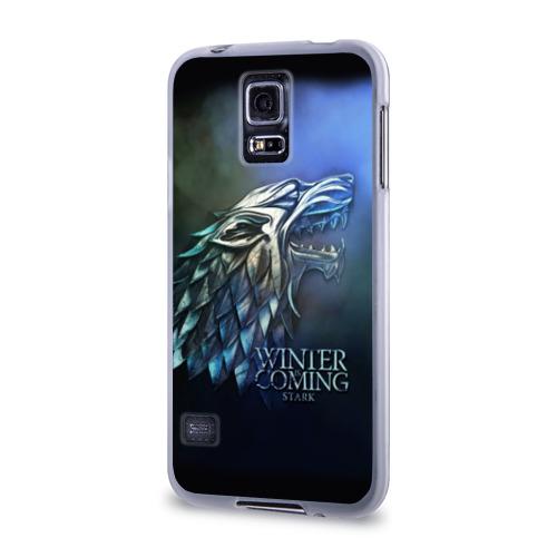 Чехол для Samsung Galaxy S5 силиконовый  Фото 03, Зима близко