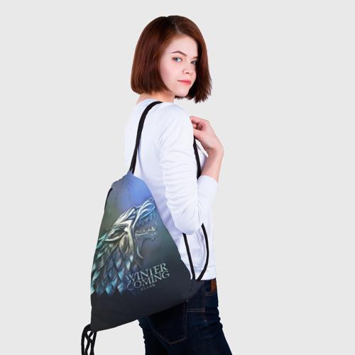 Рюкзак-мешок 3D  Фото 02, Зима близко