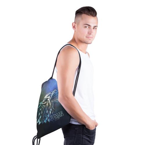 Рюкзак-мешок 3D  Фото 03, Зима близко