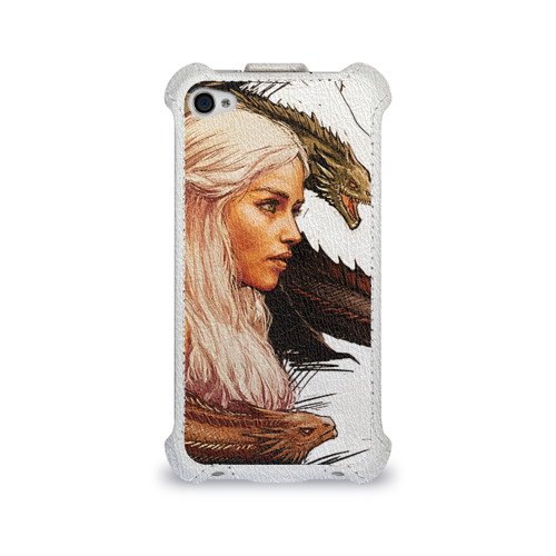Чехол для Apple iPhone 4/4S flip  Фото 01, Game of Thrones