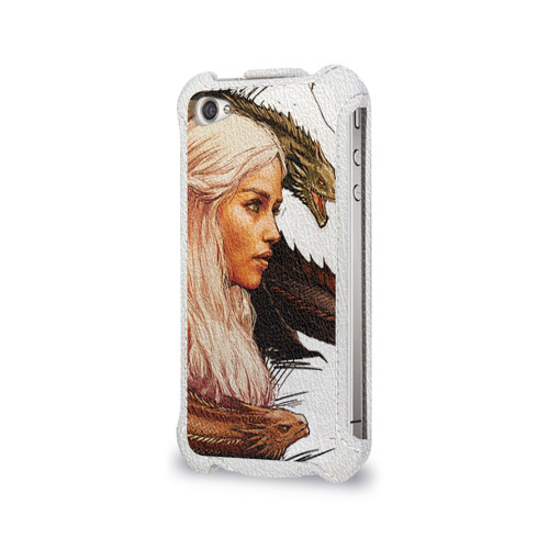 Чехол для Apple iPhone 4/4S flip  Фото 03, Game of Thrones