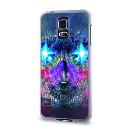 Чехол для Samsung Galaxy S5 силиконовый  Фото 03, Череп