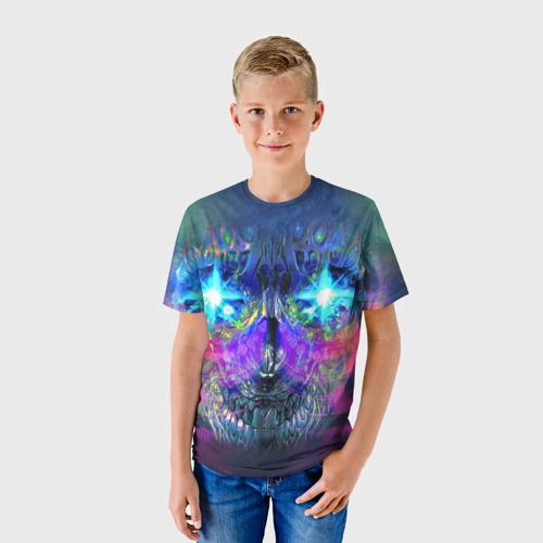 Детская футболка 3D  Фото 01, Череп