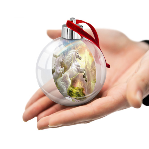Ёлочный шар  Фото 02, Единороги