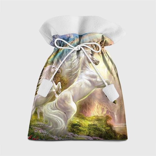 Подарочный 3D мешок Единороги