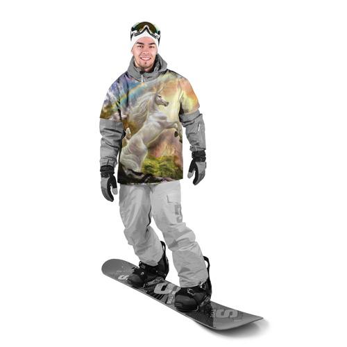 Накидка на куртку 3D Единороги Фото 01