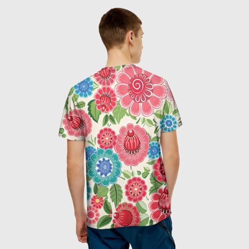 Мужская футболка 3D Роспись