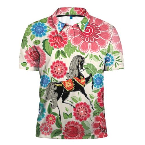 Мужская рубашка поло 3D Роспись