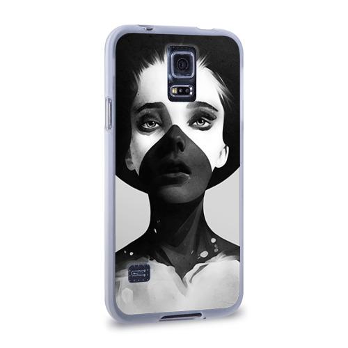 Чехол для Samsung Galaxy S5 силиконовый  Фото 02, Девушка