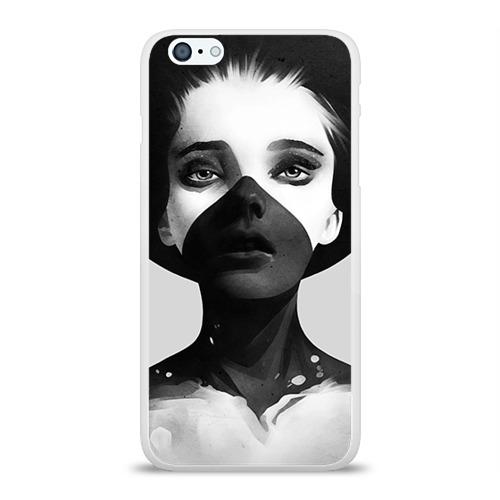 Чехол для Apple iPhone 6Plus/6SPlus силиконовый глянцевый  Фото 01, Девушка
