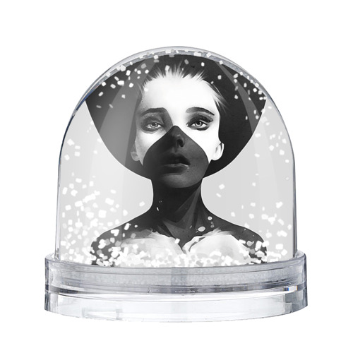 Водяной шар со снегом Девушка