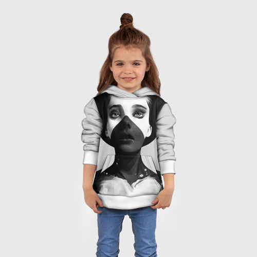 Детская толстовка 3D Девушка