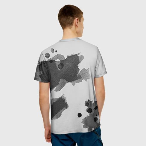 Мужская футболка 3D Девушка
