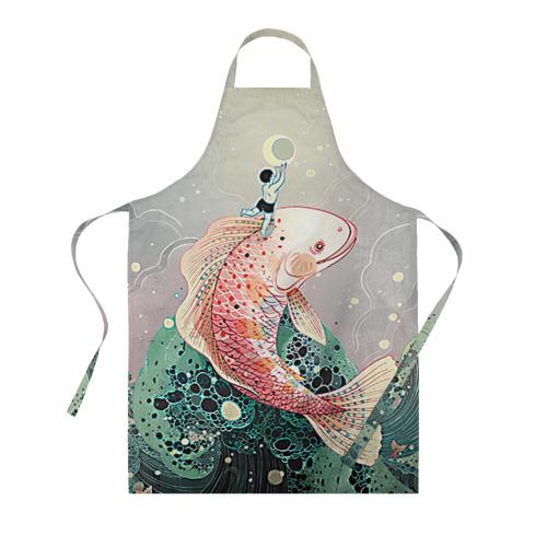Фартук 3D Рыба