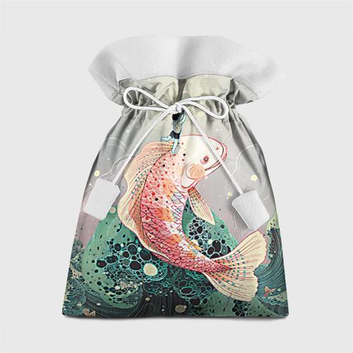 Подарочный 3D мешок Рыба