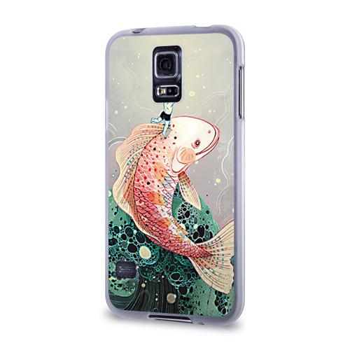 Чехол для Samsung Galaxy S5 силиконовый  Фото 03, Рыба
