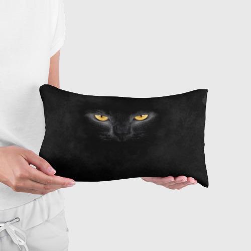 Подушка 3D антистресс Черная кошка Фото 01