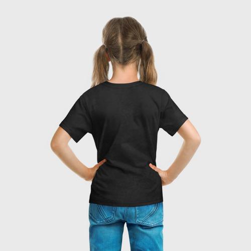 Детская футболка 3D Черная кошка Фото 01