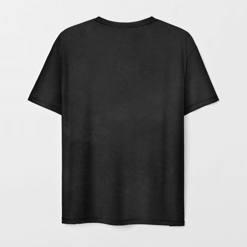 Мужская футболка 3D Черная кошка Фото 01