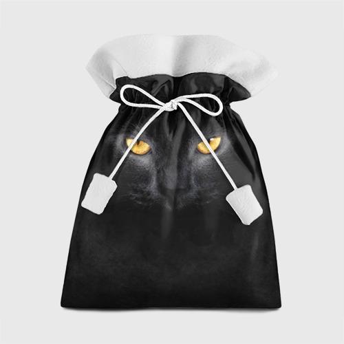 Подарочный 3D мешок Черная кошка
