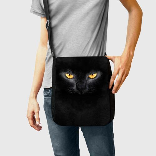 Сумка через плечо Черная кошка Фото 01