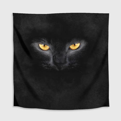Скатерть 3D Черная кошка Фото 01