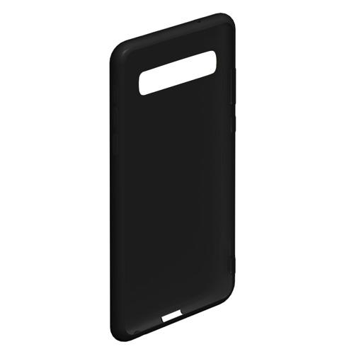 Чехол для Samsung Galaxy S10 Черная кошка Фото 01