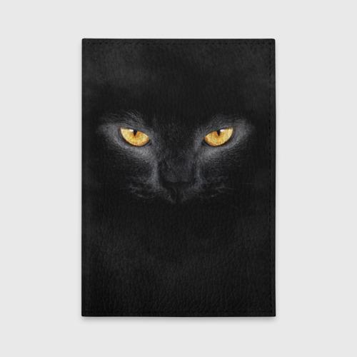 Обложка для автодокументов Черная кошка Фото 01
