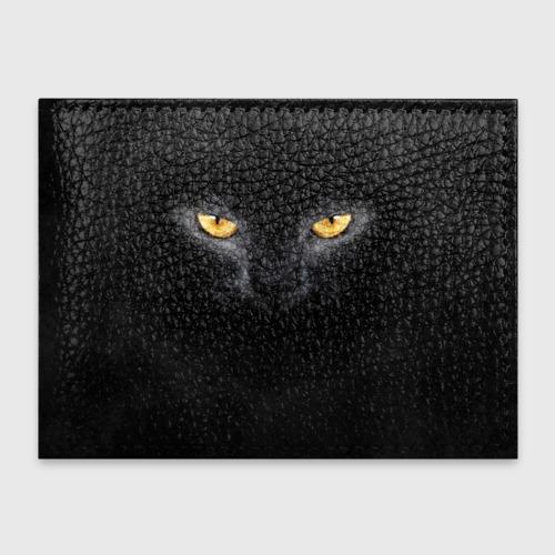 Обложка для студенческого билета Черная кошка Фото 01