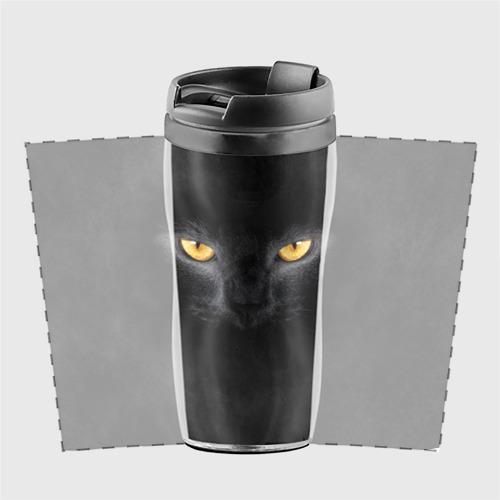 Термокружка-непроливайка Черная кошка Фото 01