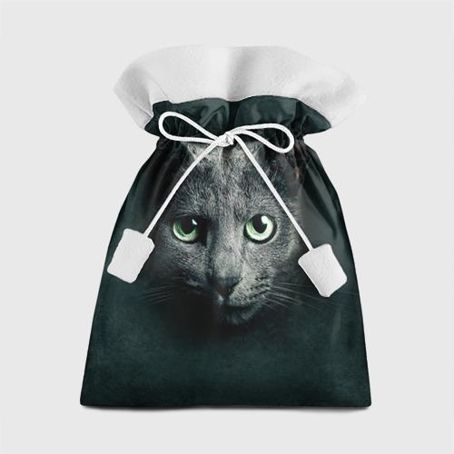Подарочный 3D мешок Серый кот