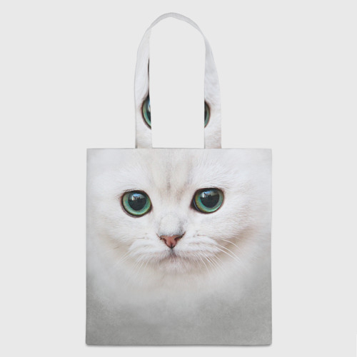 Сумка 3D повседневная  Фото 01, Белый котик