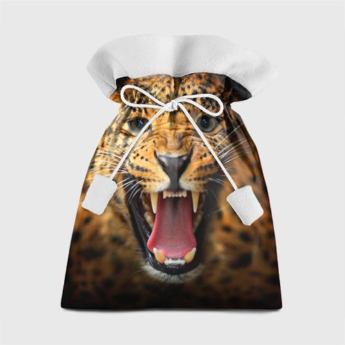 Подарочный 3D мешок Леопард