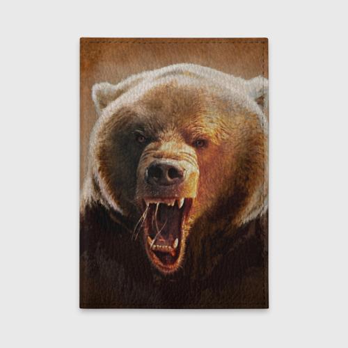 Обложка для автодокументов  Фото 01, Медведь