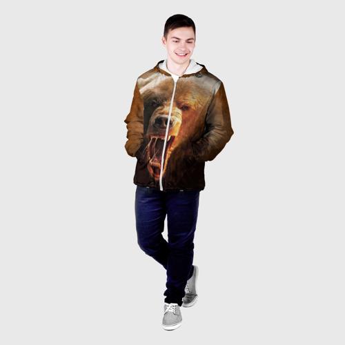 Мужская куртка 3D  Фото 03, Медведь