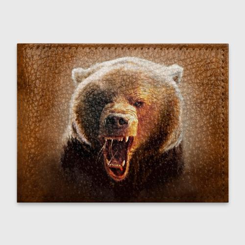 Обложка для студенческого билета Медведь Фото 01