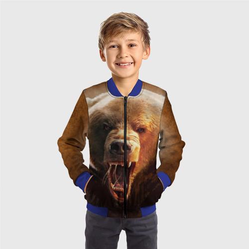 Детский бомбер 3D Медведь Фото 01
