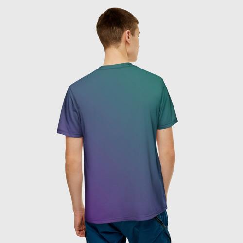 Мужская футболка 3D Riki