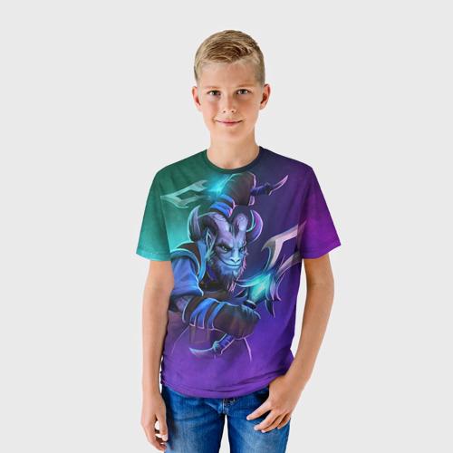 Детская футболка 3D Riki