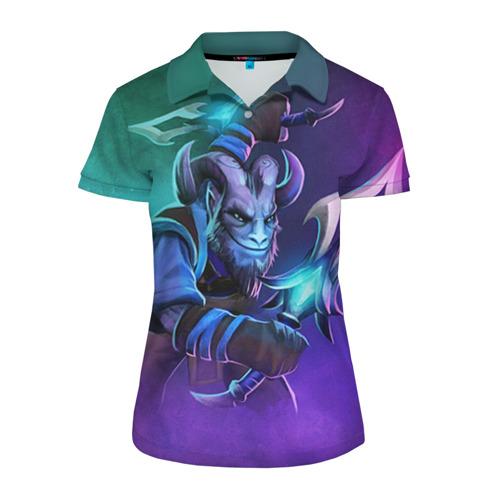 Женская рубашка поло 3D Riki