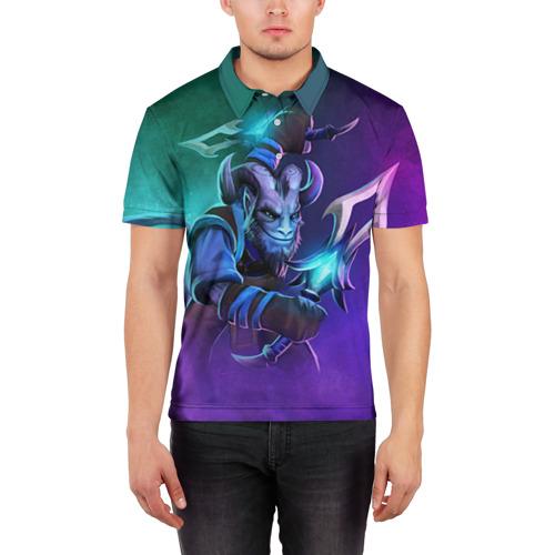 Мужская рубашка поло 3D Riki Фото 01