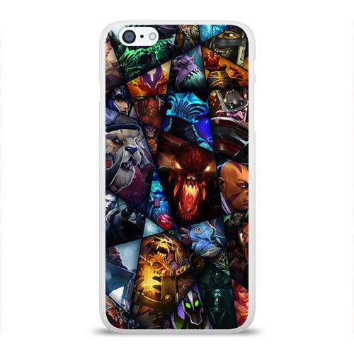 Чехол для Apple iPhone 6Plus/6SPlus силиконовый глянцевый All pic