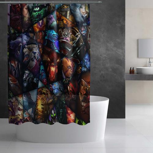 Штора 3D для ванной  Фото 03, All pic