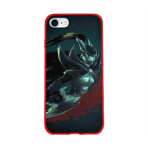 Чехол для Apple iPhone 8 силиконовый глянцевый Phantom Assassin Фото 01