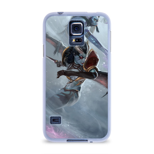 Чехол для Samsung Galaxy S5 силиконовый  Фото 01, Queen of Pain