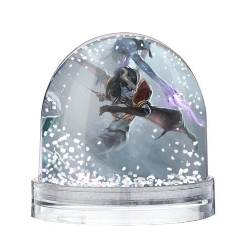 Водяной шар со снегом Queen of Pain