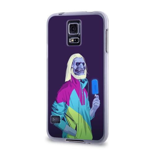 Чехол для Samsung Galaxy S5 силиконовый  Фото 03, White walker